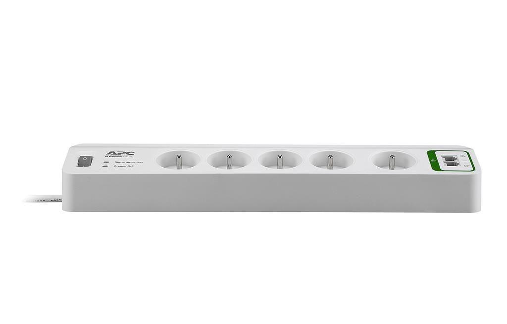 APC Essential SurgeArrest listwa zasilająco-filtrująca, 5 gniazd PL, tel., 230V