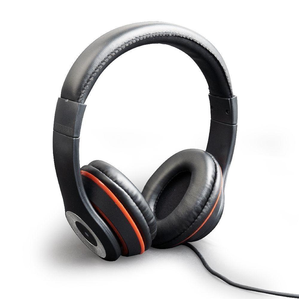 Gembird słuchawki stero LOS ANGELES z mikrofonem i regulacją głośności, czarne