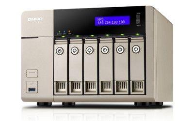 QNAP TVS-663-4G 6x0HDD 4GB 2,4GHz 2LAN 5xUSB3.0
