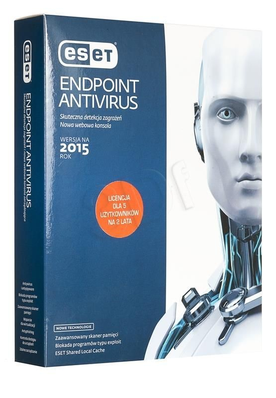 Eset Endpoint Antivirus 5 STAN/24M UPG