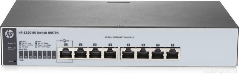 HP Switch zarządzalny 1820-8G Switch (J9979A)
