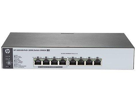 HP 1820-8G-PoE+ (65W) Switch (J9982A)