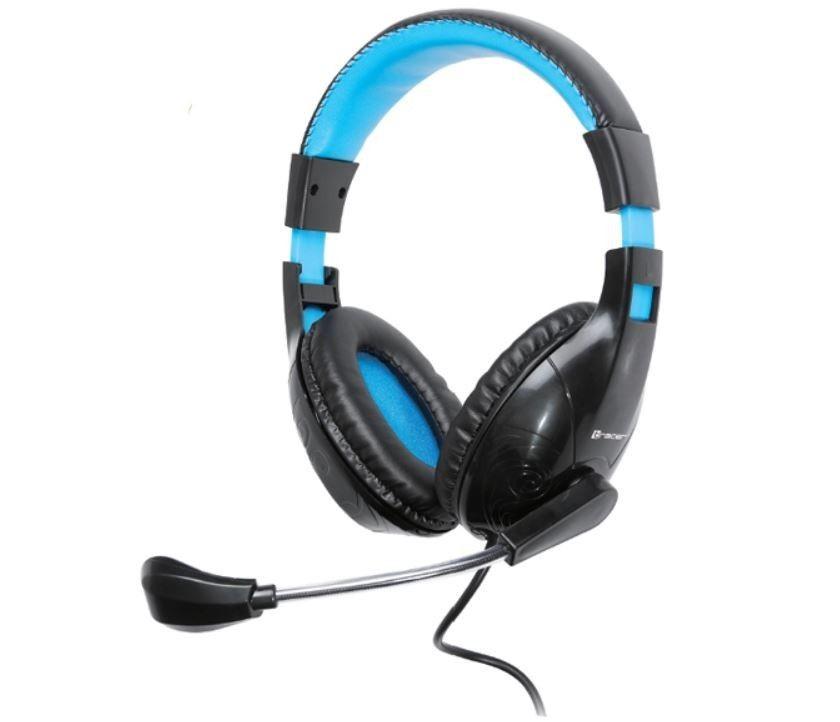Tracer Słuchawki z mikrofonem DIZZY BLUE