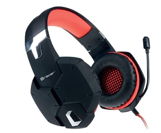 Tracer Słuchawki gaming DRAGON RED