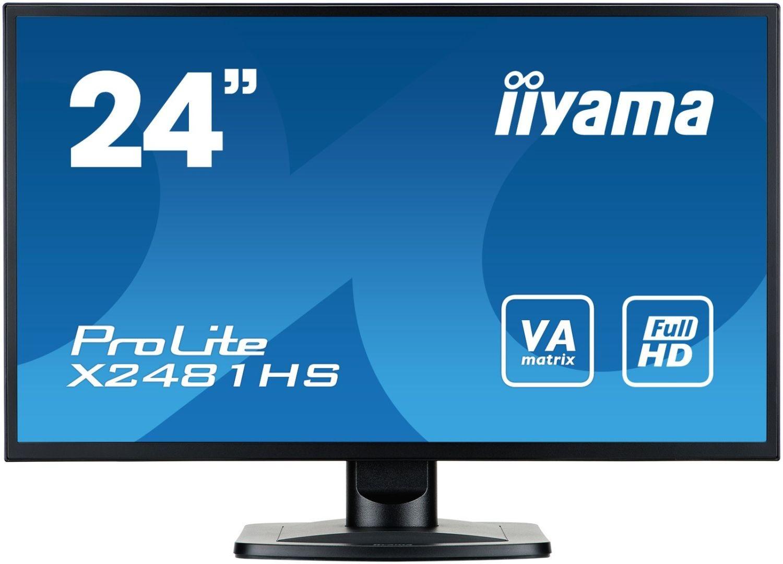 iiyama Monitor X2481HS-B1 23.6inch, IPS, Full HD, DVI-D, HDMI, głośniki