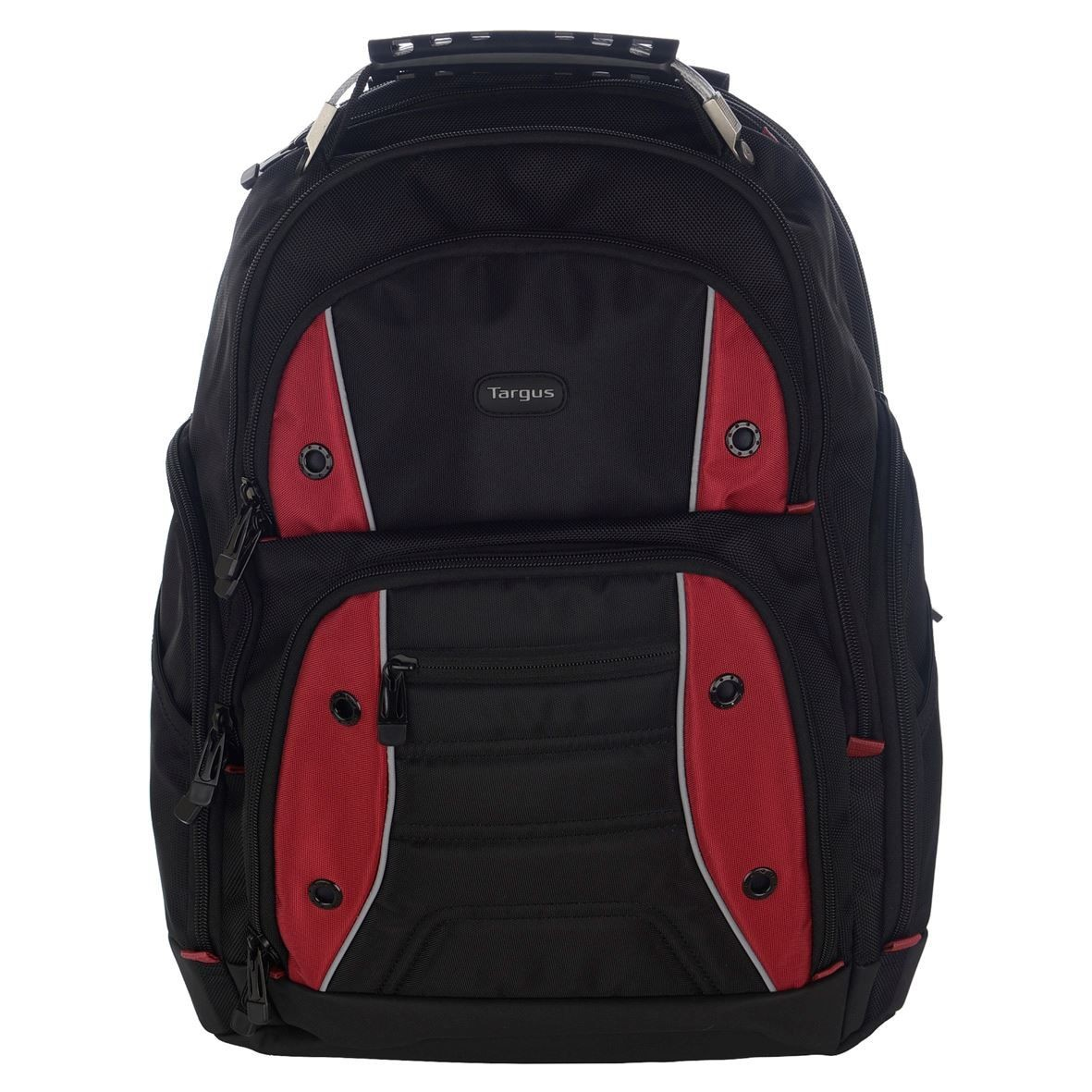 Targus Drifter 16 Laptop Backpack Black/Red