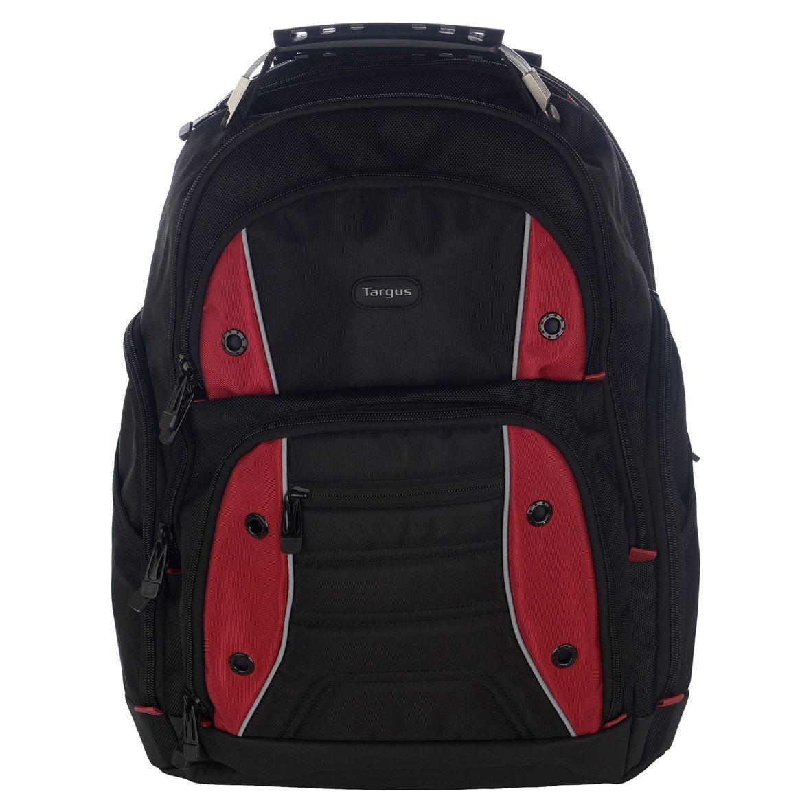 Targus Plecak Drifter 15.6',black/red