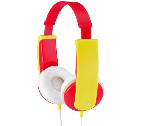 JVC Słuchawki HA-KD5 czerwone