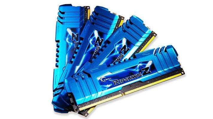 GSkill DDR3 32GB (4x8GB) RipjawsZ 2400MHz CL11 XMP