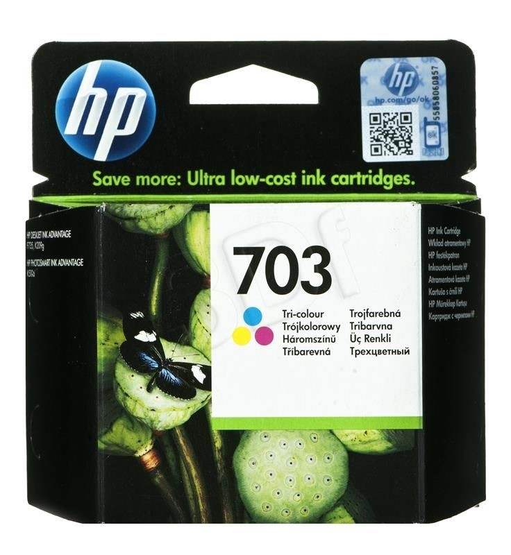 HP Tusz HP kolor HP 703 HP703=CD888AE 250 str. 4 ml