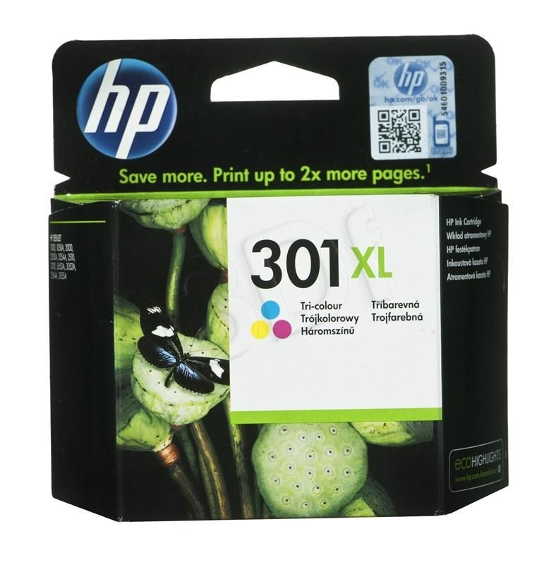 HP Tusz HP kolor HP 301XL HP301XL=CH564EE 330 str. 6 ml