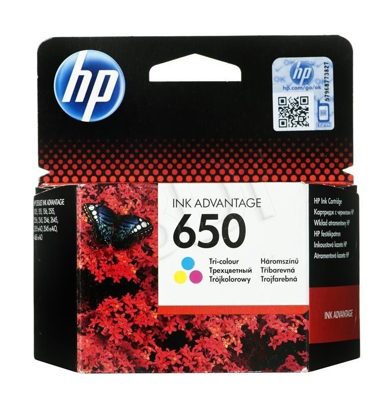 HP Tusz Kolor HP650=CZ102AE 200 str.