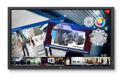 NEC Monitor MultiSync E705 SST 70'' MultiTouch
