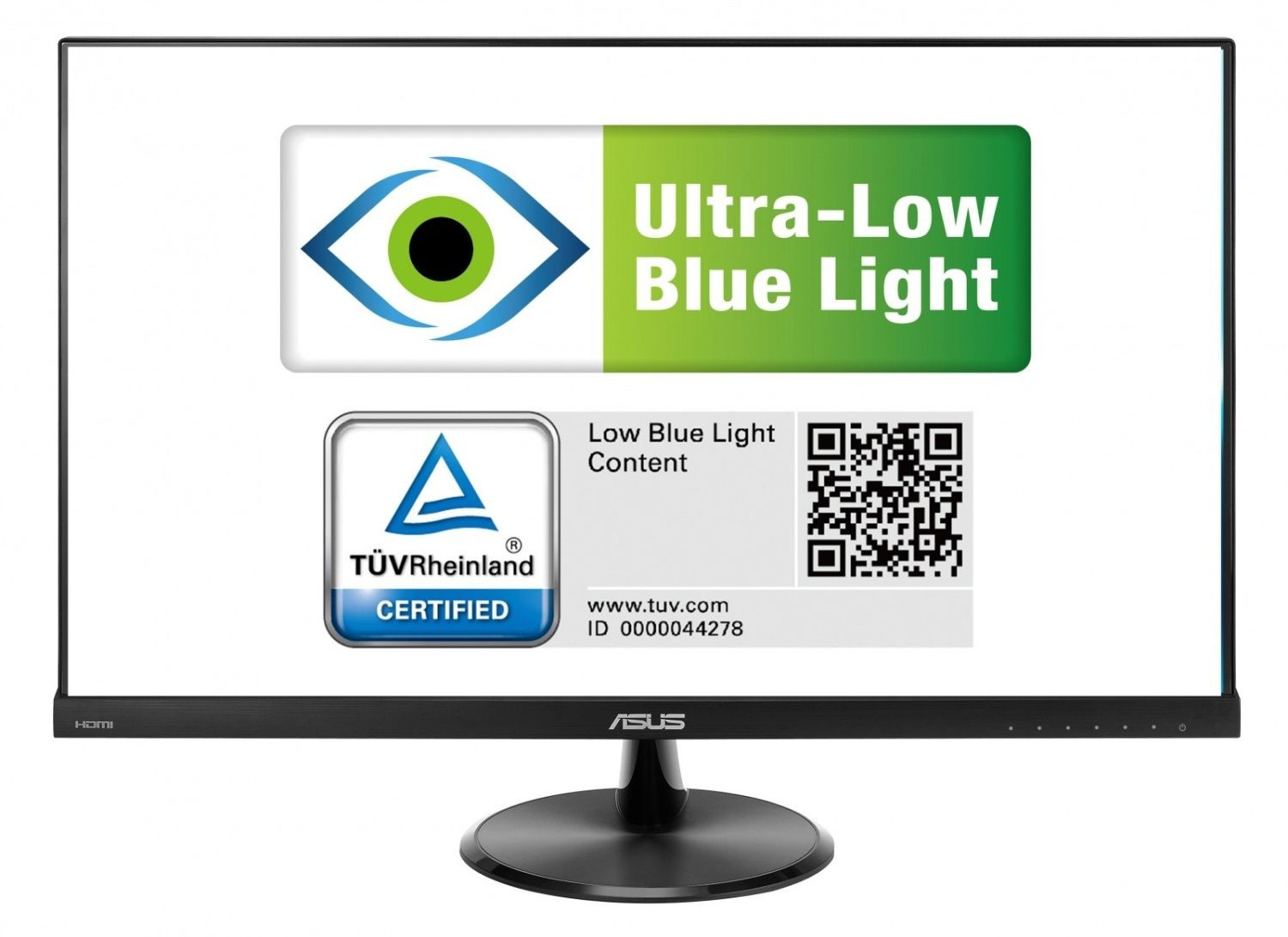 Asus Monitor Asus VC279H 27inch, DVI-D/D-Sub/HDMI, eye care