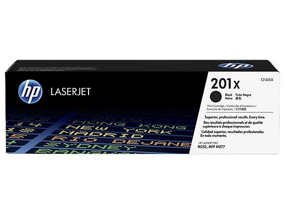 HP Toner HP 201X black