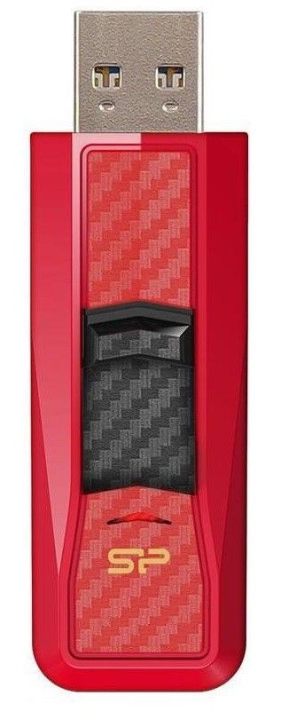 Silicon-Power BLAZE B50 8GB USB 3.0 Carbon Red