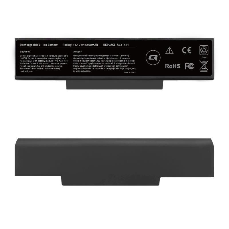 Qoltec Bateria do laptopa Asus A32-K72 | 11.1 V | 4400 mAh