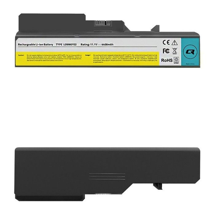 Qoltec Bateria do laptopa Lenovo B470 B575 G460 G560 | 11.1 V | 4400 mAh