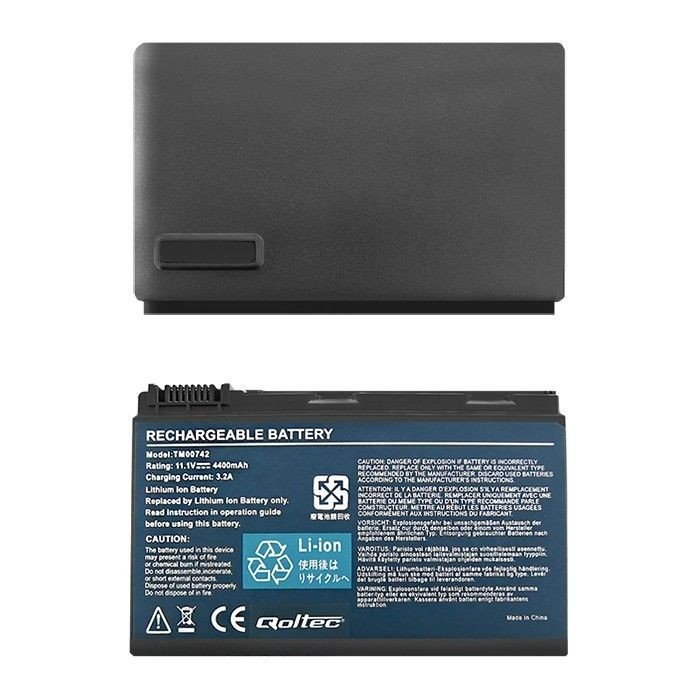 Qoltec Bateria do laptopa Acer Extensa 5220 5620 5520 | 11.1 V | 4400mAh