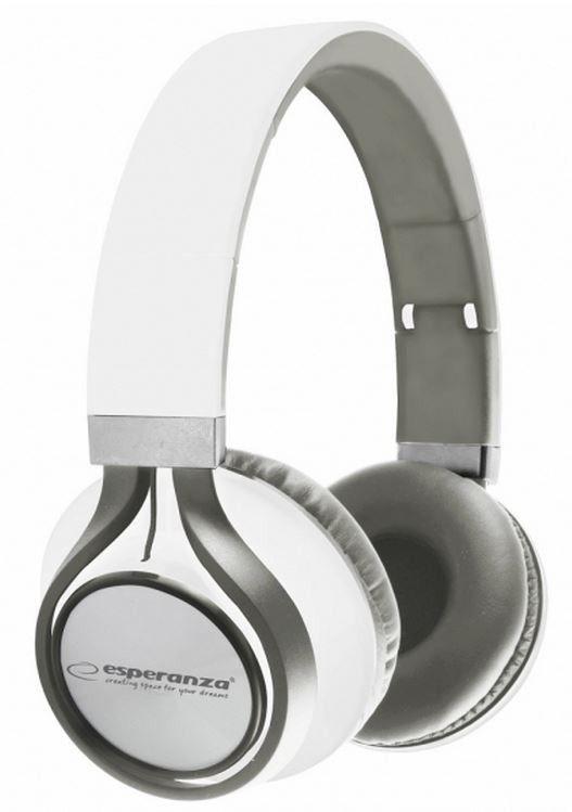 Esperanza EH159W FREESTYLE Słuchawki Audio Stereo z Regulacją Głośności | 2m