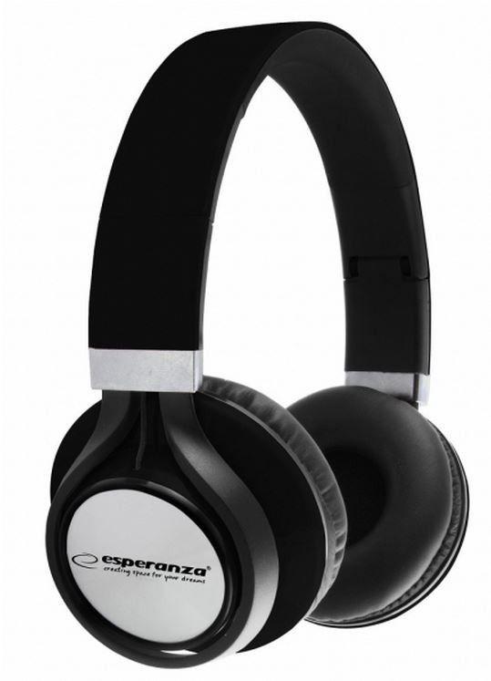 Esperanza EH159K FREESTYLE Słuchawki Audio Stereo z Regulacją Głośności | 2m