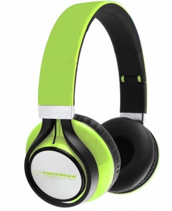Esperanza EH159G FREESTYLE Słuchawki Audio Stereo z Regulacją Głośności | 2m