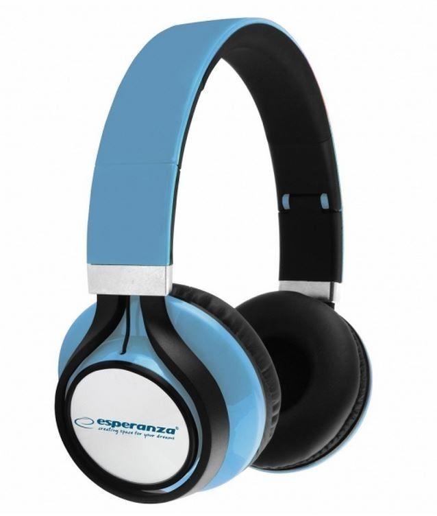 Esperanza EH159B FREESTYLE Słuchawki Audio Stereo z Regulacją Głośności | 2m