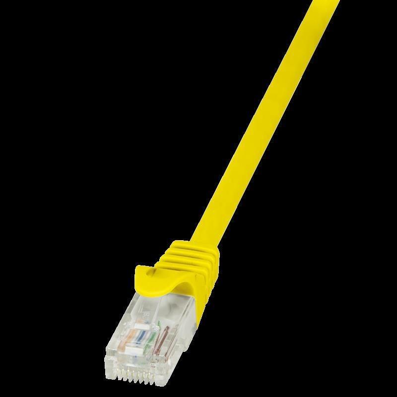 LogiLink Patchcord CAT 5e UTP 7,5m żółty