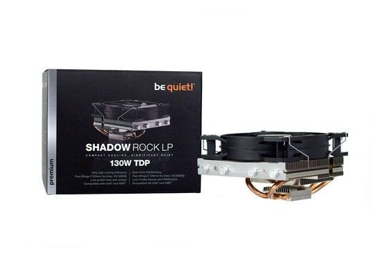 be quiet! Shadow Rock LP CPU cooler 775/1150/1155/1156/1366/2011/AM2(+)/AM3(+)