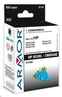 Armor cartridge pro HP Officejet 6100, 6600, Cyan (CN054AE)