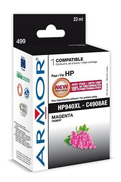 Armor cartridge pro HP Officejet Pro 8000, 8500 , magenta, 24ml, (C4908AE)