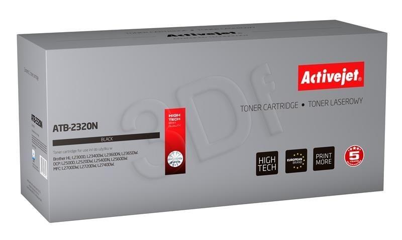 ActiveJet Toner ActiveJet ATB-2320N | Czarny | 2600 pp | Brother TN-2320