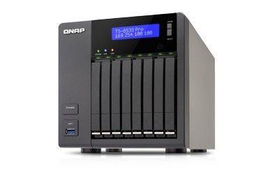 QNAP TS-853S-Pro 8x0HDD 4GB 2.0GHz 4xLAN USB3.0