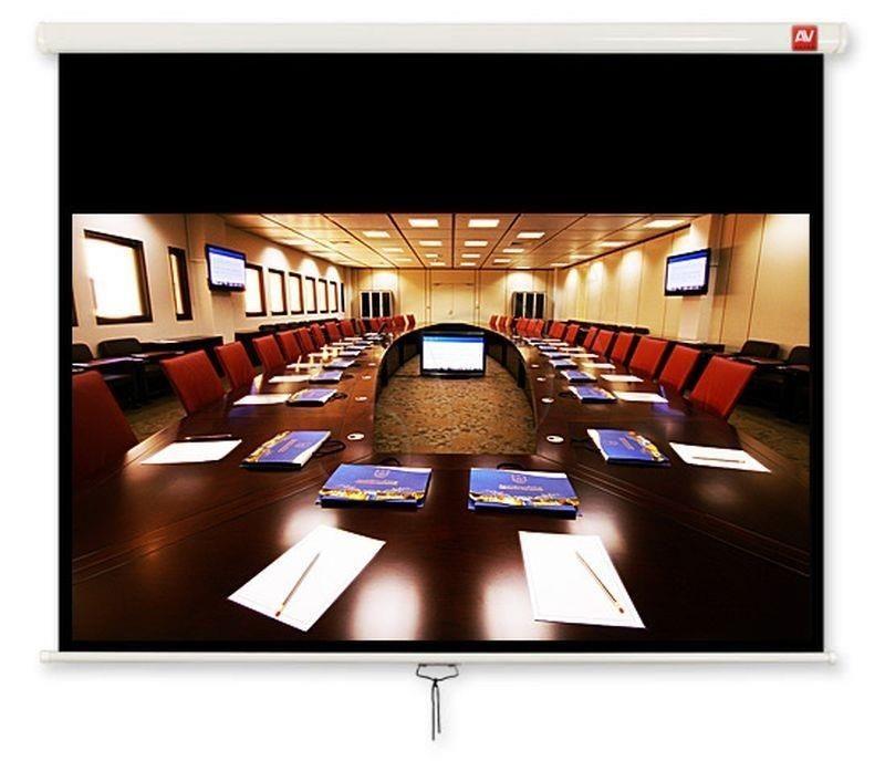 AVTek Avtek ekran projekcyjny CINEMA 240 (sufitowy ścienny rozwijany ręcznie 230x129 5cm)