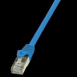 LogiLink Patchcord CAT 5e F/UTP 10m niebieski