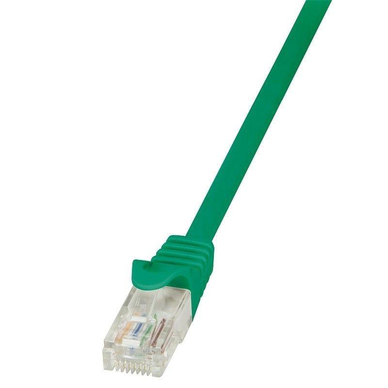 LogiLink Patchcord CAT 6 U/UTP EconLine 10m zielony