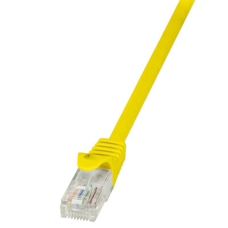 LogiLink Patchcord CAT 6 U/UTP EconLine 1m żółty