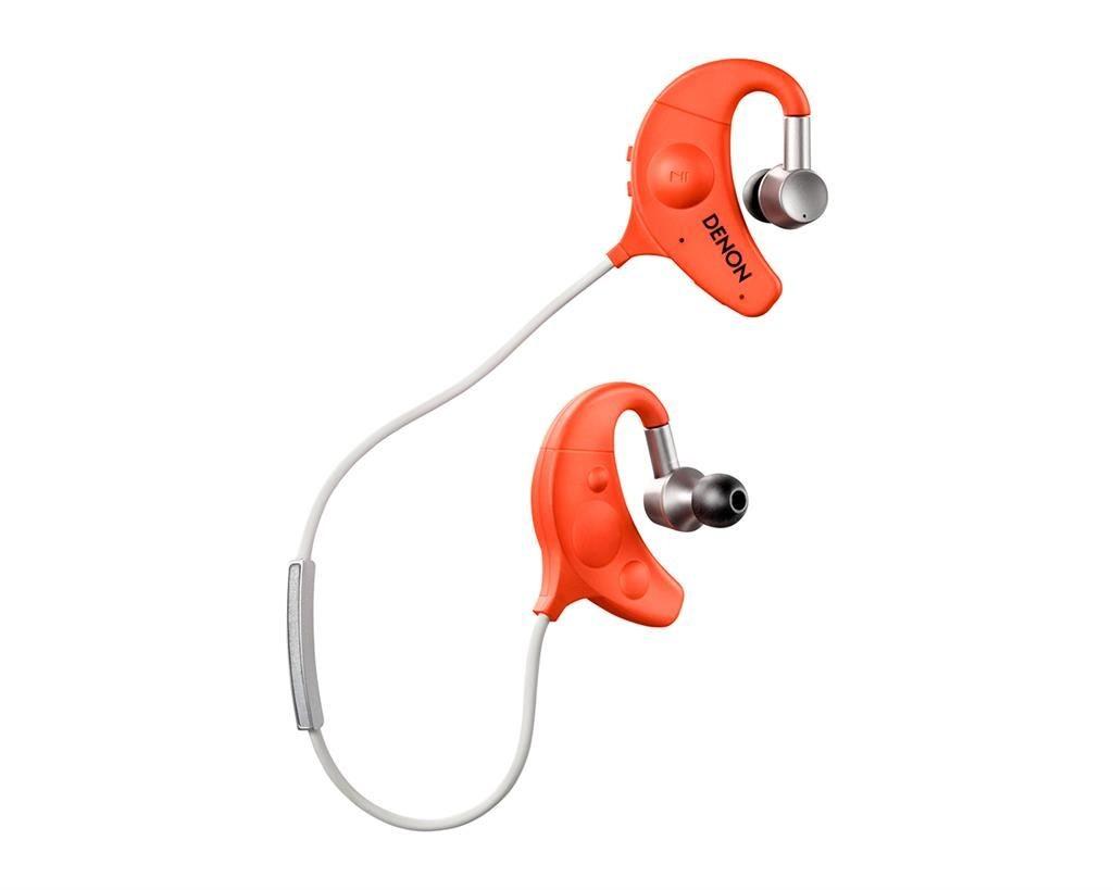 DENON Słuchawki Denon AH-W150 pomarańczowe