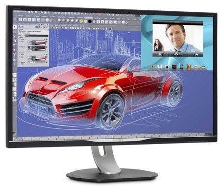 Philips Monitor BDM3270QP/00 32'', AMVA, WQHD, D-Sub, DVI, HDMI, DP