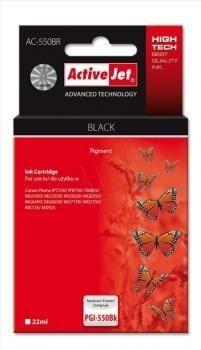 ActiveJet Tusz ActiveJet AC-550BR | Czarny | 22 ml | Canon PGI-550BK