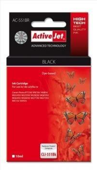 ActiveJet Tusz ActiveJet AC-551BR | Czarny | 10 ml | Canon CLI-551BK