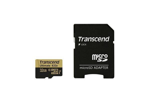 Transcend Karta pamięci Transcend microSDXC 32GB Class 10, UHS1 + Adapter