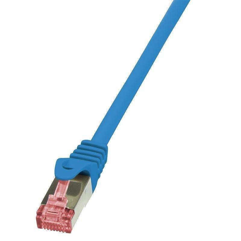 LogiLink Patchcord Cat.6 S/FTP PIMF PrimeLine 7,5m, niebieski