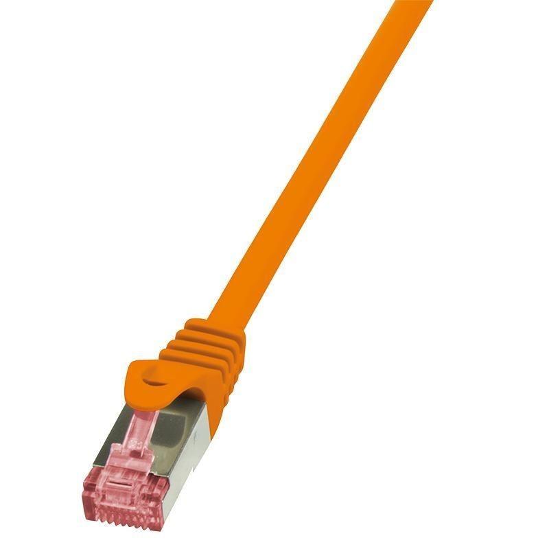 LogiLink Patchcord Cat.6 S/FTP PIMF PrimeLine 10m, pomarańczowy