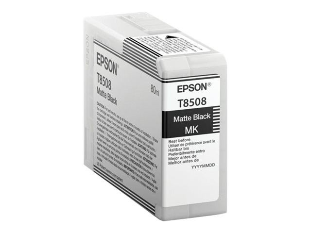 Epson Tusz T850800 photo matte black | 80 ml | SC-P800