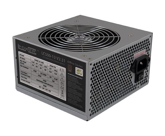 LC-Power Zasilacz LC-POWER OFFICE 400W ATX 120mm PCIe brak k.zas.80+B