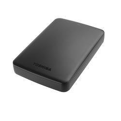 Toshiba Dysk zewnętrzny Toshiba Canvio Basics, 2.5'', 3TB, USB 3.0, czarny