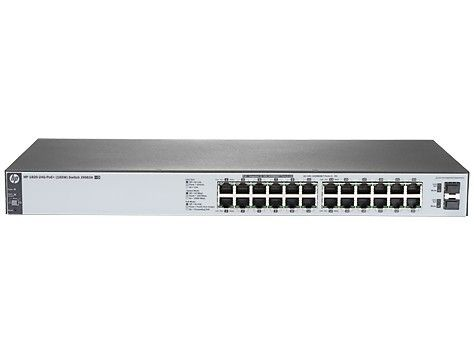 HP 1820-24G-PoE+(185W) Switch J9983A - Limited Lifetime Warranty