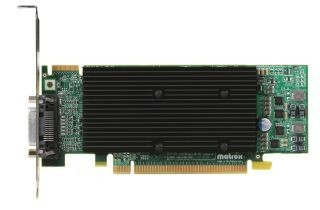 Matrox M9120 PLUS DualHead 512MB (2xDVI, PCI-E, low profile)