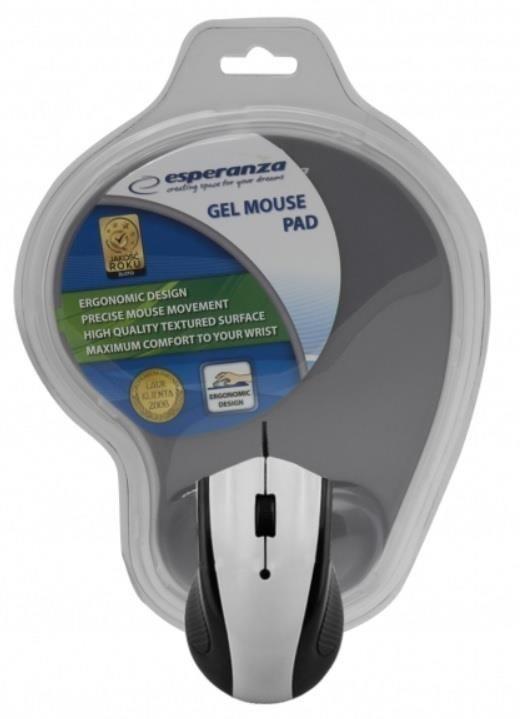 Esperanza Przewodowa Mysz Optyczna EM152E USB | 1200 DPI + PODKŁADKA ŻELOWA